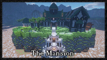 The Redstone City Mansion Minecraft Map & Project