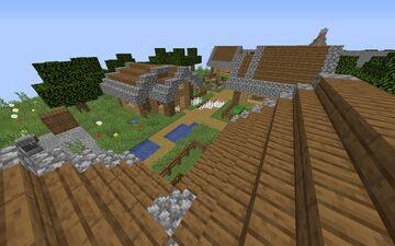 CREEPER RUN Minecraft Map & Project
