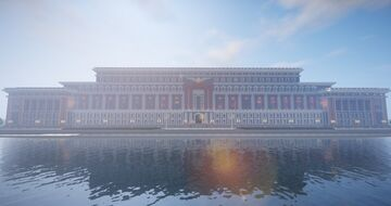 Palace of the Imperial Supreme Commander Minecraft Map & Project