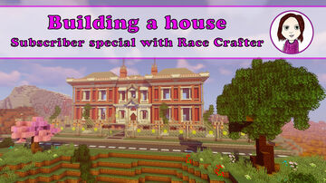 Subscriber Celebration Build with Race Crafter Minecraft Map & Project