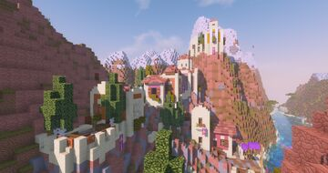 Corinth | A byzantine village in Minecraft | Age of Ruin Minecraft Map & Project