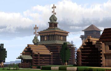 Uspenskaya Tserkov' (Assumption Church), Suzdal, Russia Minecraft Map & Project