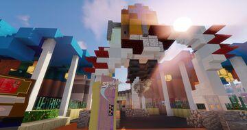 Starliner Diner (Hong Kong Disneyland) Minecraft Map & Project