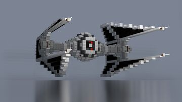Star Wars - TIE Interceptor | UPDATED  |  DOWNLOAD Minecraft Map & Project