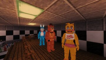 1.12.2 Map All The FNAF Games In One Pizzeria (beta) Minecraft Map & Project