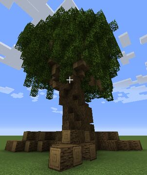 Custom Oak V1 Minecraft Map & Project