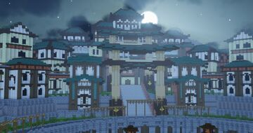 Temple Arena | Aderlyon Build Team Minecraft Map & Project