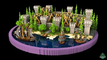 ⭐ EXCLUSIVE ⭐ Citadel Lobby - AliensBuilds 🏰 Minecraft Map & Project