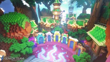 UnspeakableGaming Fantasy Hub Minecraft Map & Project