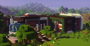 Beautiful House Minecraft Map & Project