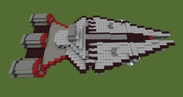 Starwars Republic Light Cruiser   Minecraft 1.12.2 Minecraft Map & Project