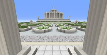 Classical Forum (work in progress) Update 3 Minecraft Map & Project