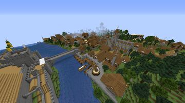 Medieval Faction Spawn/City (1.15+) (Download) Minecraft Map & Project