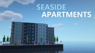 Seaside Apartments Minecraft Map & Project