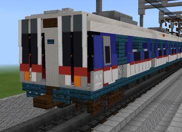 [1⅔:1] Seoul Metropolitan Subway 3000 series GEC 6 car set Minecraft Map & Project
