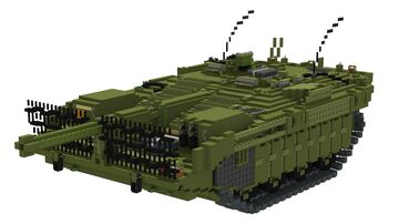STRV 103-C | 10:1 tank Minecraft Map & Project