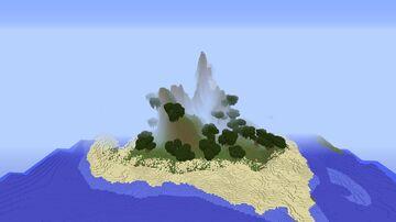 Aramis - Small Mountain Island Minecraft Map & Project