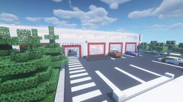 Building Supplies Store // Baumarkt Minecraft Map & Project