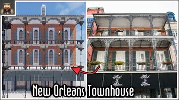 Minecraft New Orleans Townhouse Minecraft Map & Project