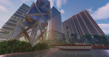 A Glorious Hub (Highly Rated!!!) Minecraft Map & Project