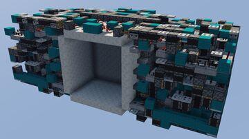 [Showcase] Seamless 8x8 Redstone Door made by InDestructibleMC Minecraft Map & Project