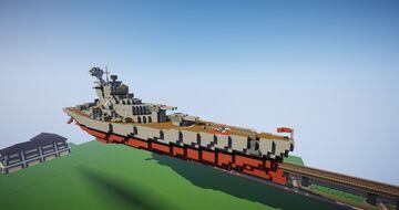 Kriegsmarine - Bismarck Battle Ship Minecraft Map & Project