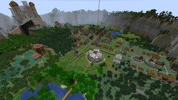 Village Minecolonies 1.16.4 Minecraft Map & Project