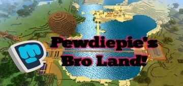 ✭PewDiePie World: Broland✭ Minecraft Map & Project