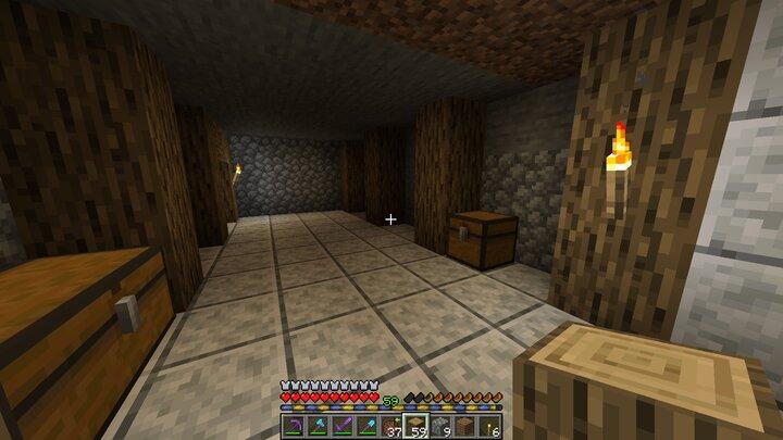 Expanding the basement Under construction