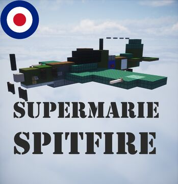 Supermarine Spitfire Minecraft Map & Project