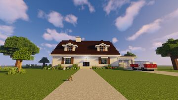 A Swell 1950's Home Minecraft Map & Project