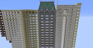 Neogothic Building Minecraft Map & Project