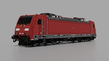 【10:1】DB Cargo BR185.2 | Bombardier TRAXX F140 AC2 Minecraft Map & Project