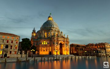 Santa Maria della Salute - Venice Minecraft Map & Project