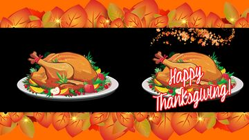 Happy Thanksgiving Map Art (Part 2) - Message Only Minecraft Map & Project