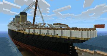 Bedrock boat Minecraft Map & Project