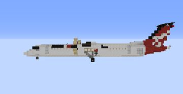 Q400 Dash-8 Minecraft Map & Project