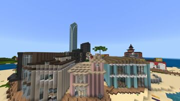 Port Pristal Minecraft Map & Project