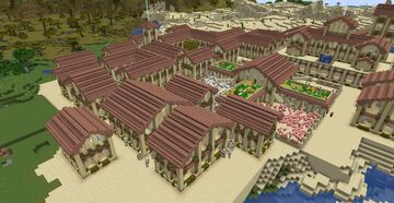 Desert Village Minecraft Map & Project