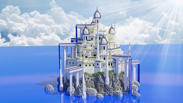 Fantasy Island Palace Minecraft Map & Project