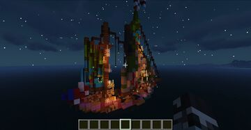The Flying Ketch-man Minecraft Map & Project