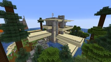 Falling Water by Frank Wright Minecraft Map & Project