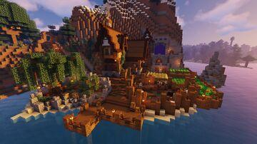 Ultimate Medieval Survival BASE / Base para supervivencia completa Minecraft Map & Project