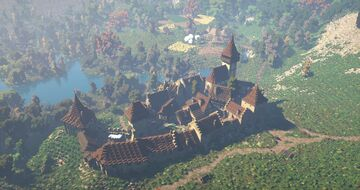 Fortified Medieval Town [Conquest Reforged] Minecraft Map & Project