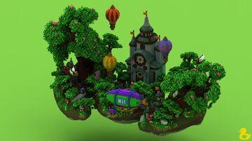 Secret Hub Minecraft Map & Project