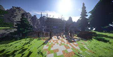 Logger Camp (Fallen Gate) Minecraft Map & Project
