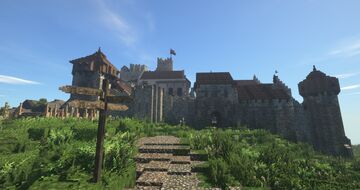 Carrig Castle #weareconquest #conquestreforged Minecraft Map & Project