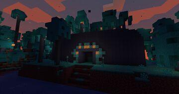 Warped Temple [Dungeon/1.16 snapshot] Minecraft Map & Project