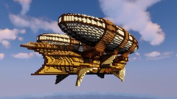 MCSS Dauntless: Naval Airship Minecraft Map & Project