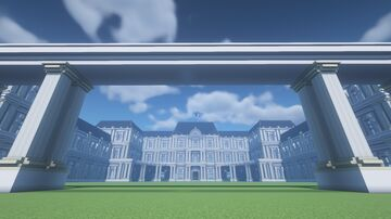 French Palace Minecraft Map & Project